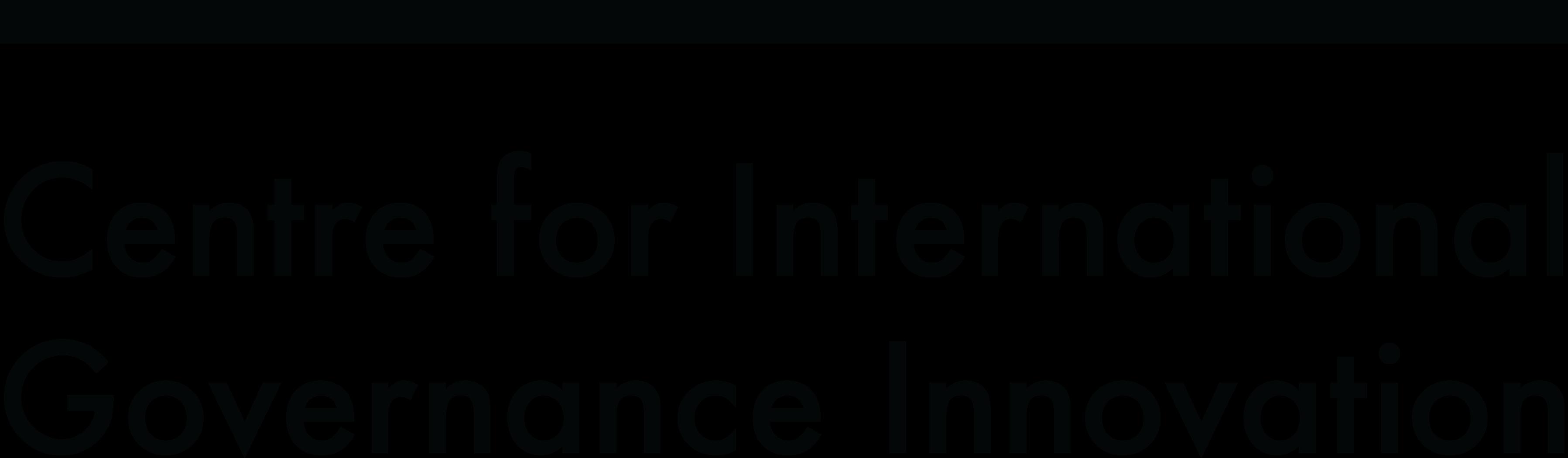 FWD50 Sponsor - Center for International Governance Innovation